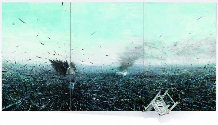 ▲贾蔼力《苍白的不只是你》(三联作) 2007.jpg