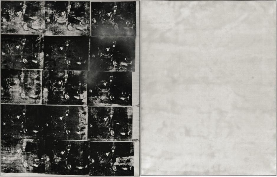 安迪•沃霍尔《银色车祸》.jpg