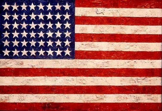 贾思培-琼斯《旗帜》.jpg