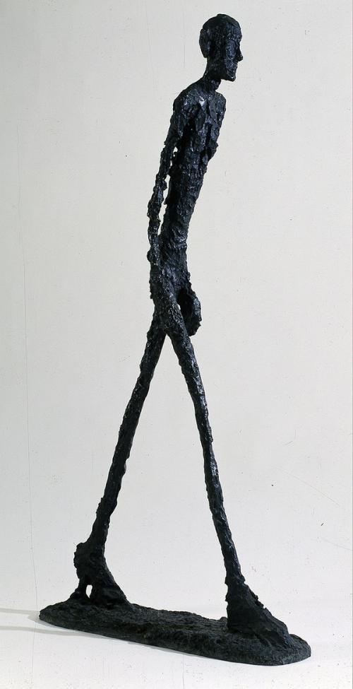 贾科梅蒂《行走的人》.jpg