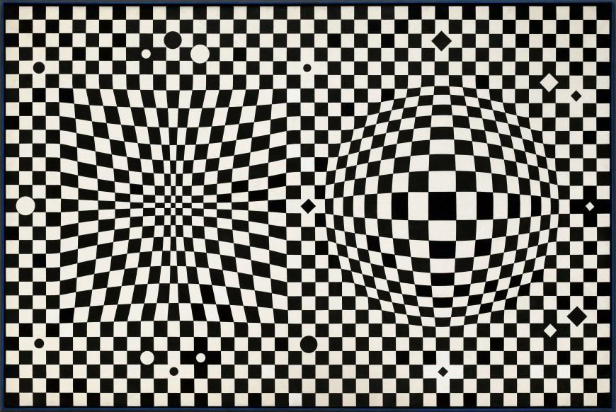 Victor Vasarely, VEGA III(1957-1959) 10.jpg