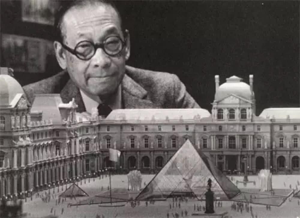 卢浮宫金字塔建造大师百年的艺术人生/贝聿铭