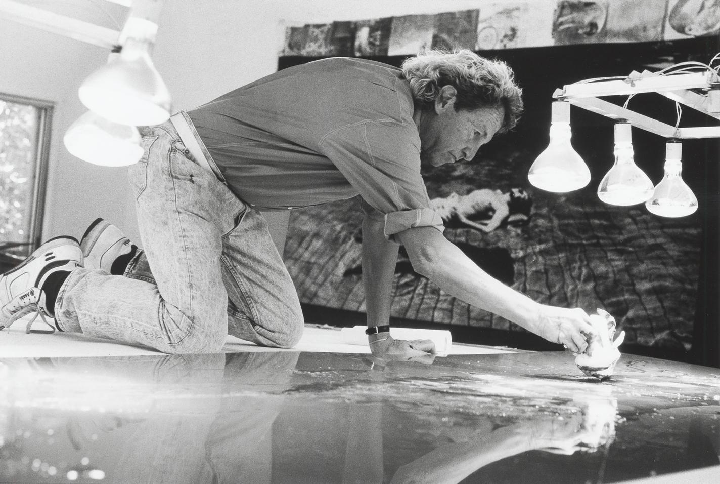 """MoMA不仅收藏了他的""""垃圾艺术"""",还要为他开办回顾展/罗伯特·劳森伯格"""