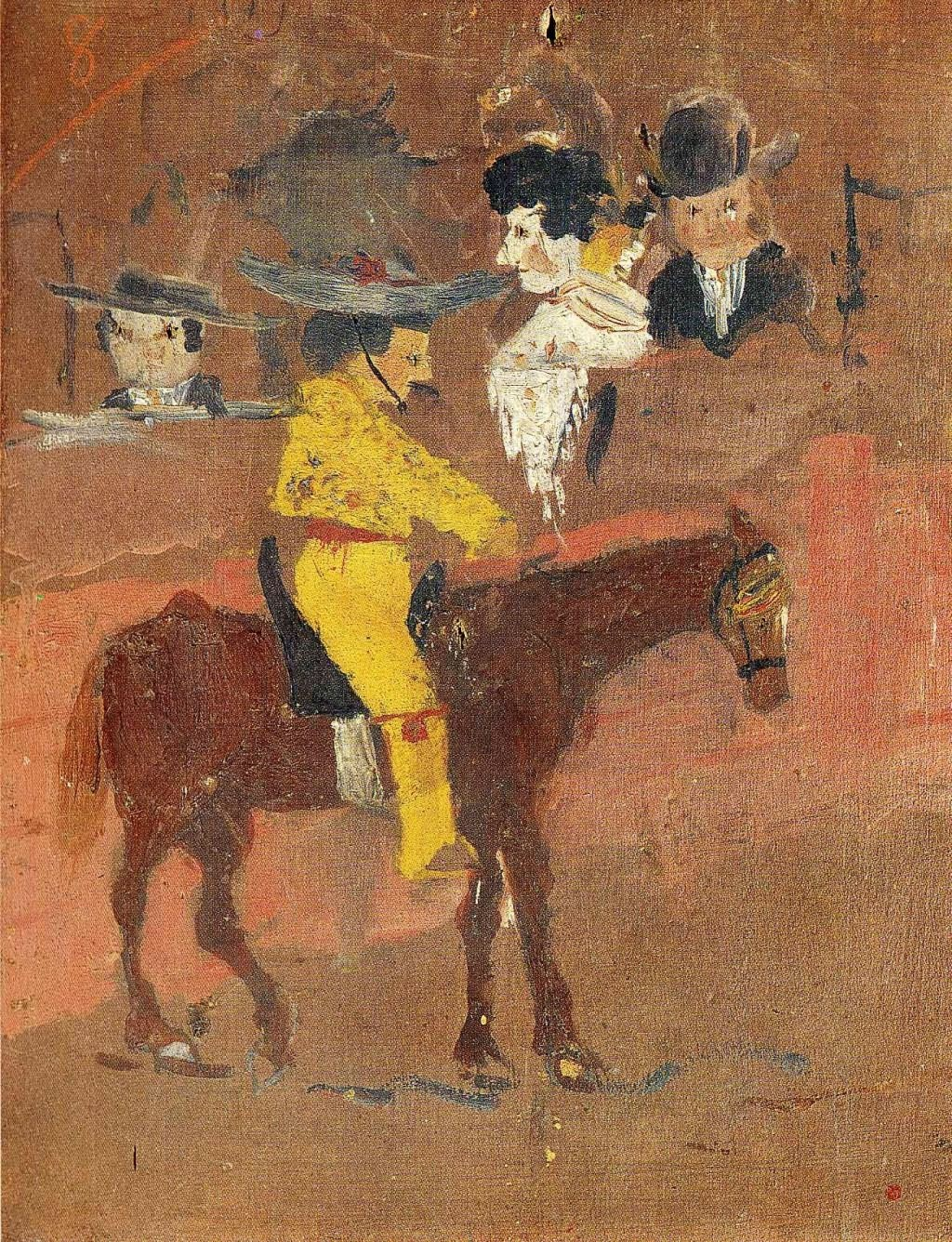 他是史上唯一一个在世时作品进入罗浮宫的画家