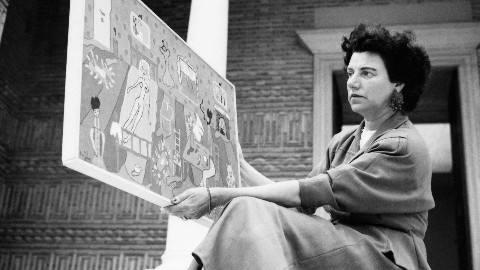 20世纪最传奇的当代艺术品女收藏家/佩吉•古根海姆