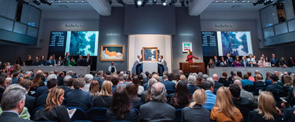 纽约春拍展现艺术拍卖市场新动向