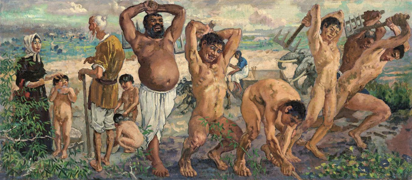 从电广传媒转手《愚公移山》看艺术品的抗市场风险性
